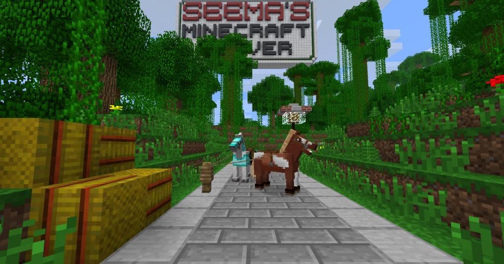Die Pferde Kommen SeeMAs Minecraft Server - Minecraft spiele mit pferden